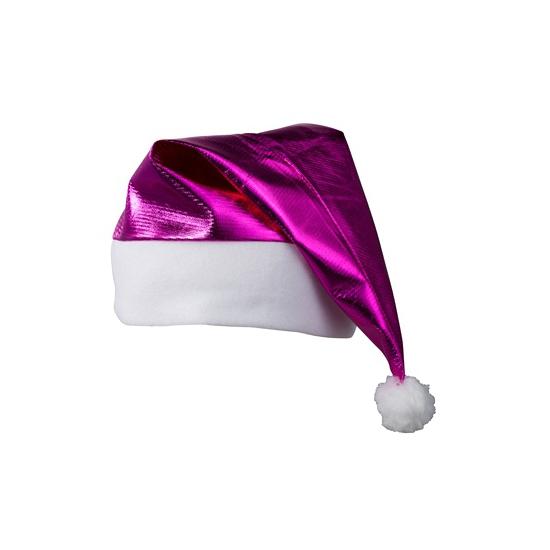 Glamour Kerstmuts Fuchsia Roze kopen