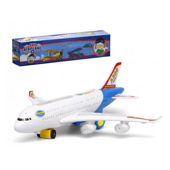 Witte Speelgoed Vliegtuigen Met Licht En Geluid kopen